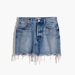 Madewell Rigid Denim Skirt